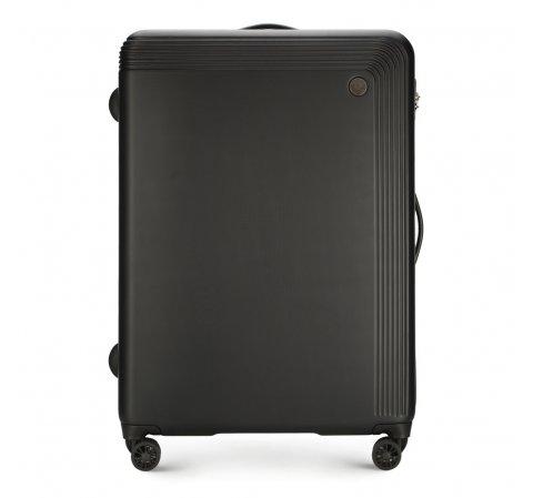 Nagy bőrönd, fekete, 56-3A-623-10, Fénykép 1
