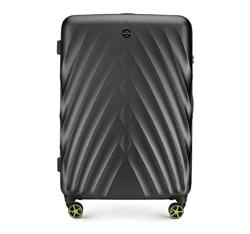 Nagy bőrönd, fekete, 56-3P-803-10, Fénykép 1