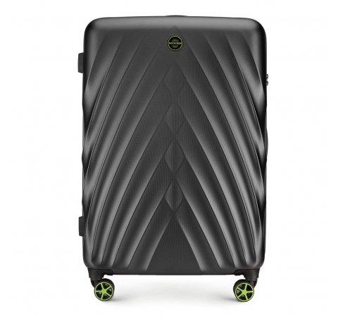 Nagy bőrönd, fekete, 56-3P-803-91, Fénykép 1