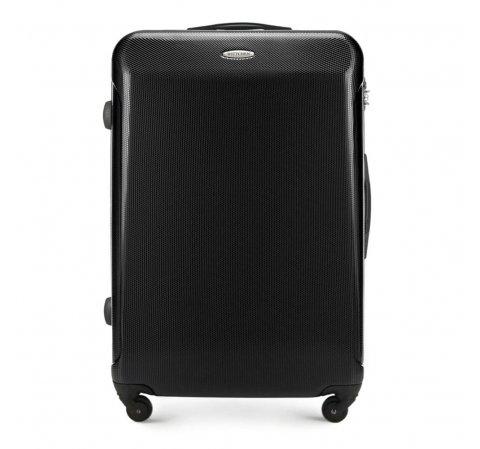 Nagy bőrönd, fekete, 56-3P-973-91, Fénykép 1