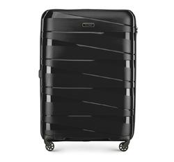 Nagy bőrönd, fekete, 56-3T-793-10, Fénykép 1