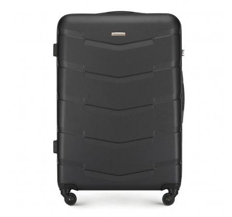 Nagy bőrönd, fekete, 56-3A-403-66, Fénykép 1