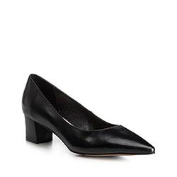 Női bíróság cipő, fekete, 90-D-954-1-38, Fénykép 1