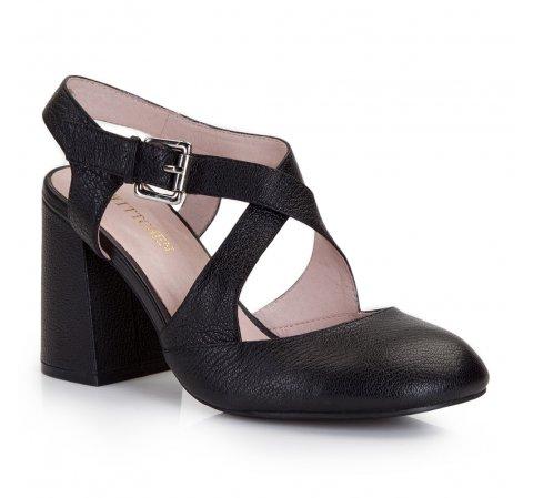 Női cipő, fekete, 86-D-910-1-36, Fénykép 1