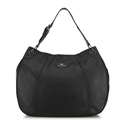 Női retikül táska kerekített, fekete, 91-4E-314-1, Fénykép 1