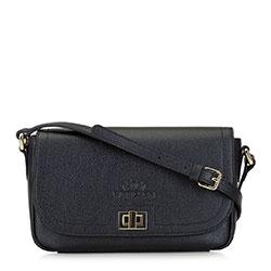 Női bőr táska, fekete, 92-4E-632-1, Fénykép 1