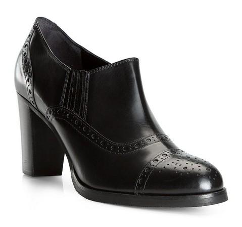 Női cipő, fekete, 81-D-107-7-39_5, Fénykép 1