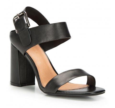 Női cipő, fekete, 86-D-652-1-40, Fénykép 1
