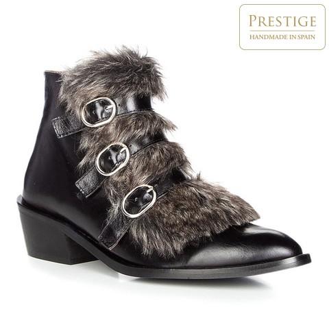Női cipő, fekete, 87-D-463-8-35, Fénykép 1