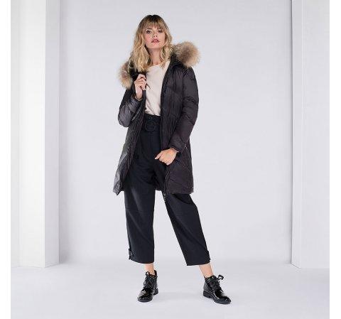Női dzseki, fekete, 89-9D-402-8-3X, Fénykép 1