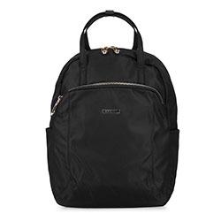 Női nejlon hátizsák, fekete, 92-4Y-103-1, Fénykép 1