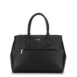 Női shopper táska állítható szélességgel, fekete, 92-4Y-613-1, Fénykép 1