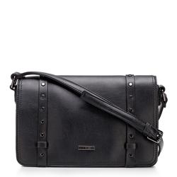 Női táska szegecsekkel, fekete, 92-4Y-563-1, Fénykép 1