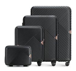 Bőröndszettek, fekete, 56-3P-84K-10, Fénykép 1