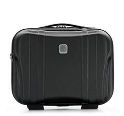 Modern polikarbonát utazótáska, fekete, 56-3P-914-10, Fénykép 1
