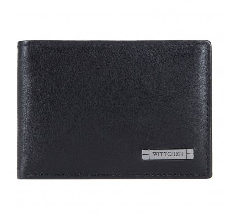 Pénztárca, fekete-szürke, 26-1-425-18, Fénykép 1