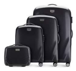 Bőröndszettek, fekete, 56-3P-57K-10, Fénykép 1