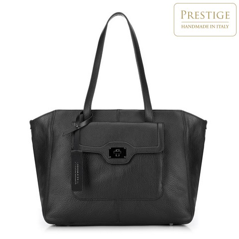 Vásárló táska, fekete, 89-4E-010-1, Fénykép 1