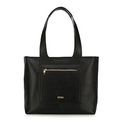 Vásárló táska, fekete, 90-4Y-552-1, Fénykép 1