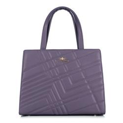 Dámská kabelka, fialová, 89-4E-504-V, Obrázek 1