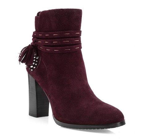 Dámské boty, fialová, 85-D-900-2-35, Obrázek 1