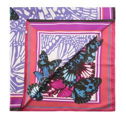 Dámský šátek, fialová, 85-7D-S21-X6, Obrázek 1