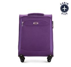 Kabinový cestovní kufr, fialová, V25-10-441-24, Obrázek 1