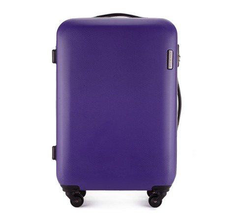Střední cestovní kufr, fialová, 56-3-612-24, Obrázek 1