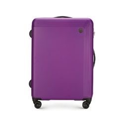 Střední kufr, fialová, 56-3A-622-44, Obrázek 1