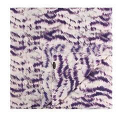 Шарф женский, фиолетово - бежевый, 83-7D-W40-X2, Фотография 1