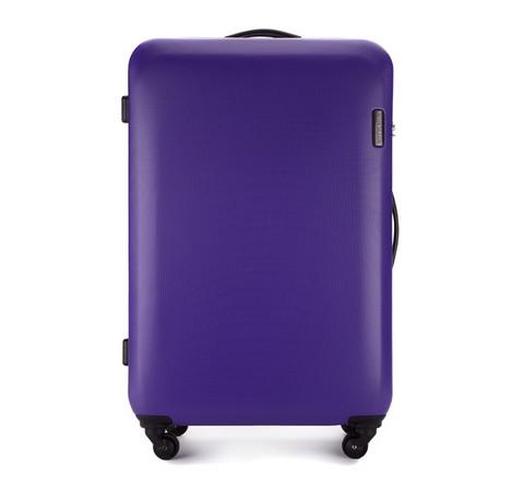 Большой чемодан, фиолетовый, 56-3-613-10, Фотография 1