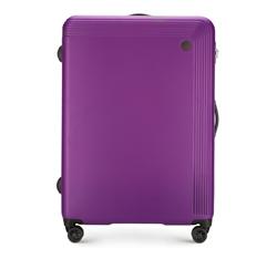 Большой чемодан, фиолетовый, 56-3A-623-44, Фотография 1