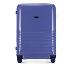 Большой чемодан, фиолетовый, 56-3H-573-24, Фотография 1