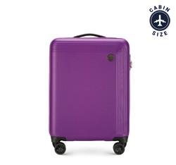 Чемодан ручная кладь, фиолетовый, 56-3A-621-44, Фотография 1