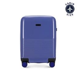 Чемодан ручная кладь, фиолетовый, 56-3H-571-24, Фотография 1