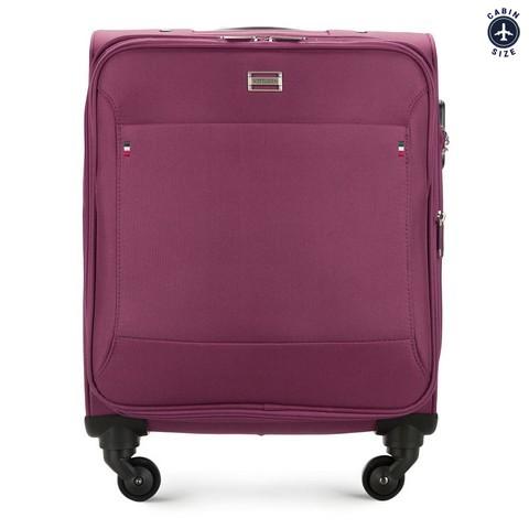 Чемодан ручная кладь, фиолетовый, 56-3S-531-10, Фотография 1