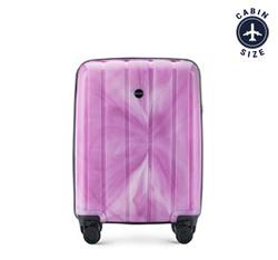 Чемодан ручная кладь, фиолетовый, 56-3T-741-66, Фотография 1