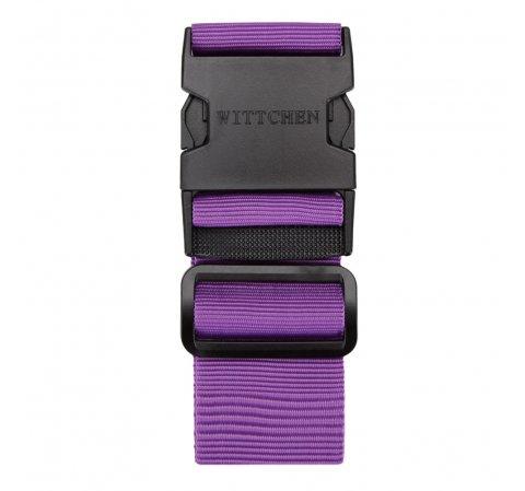 Ремешок для багажа, фиолетовый, 56-30-015-44, Фотография 1