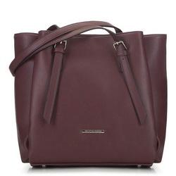 Большая сумка-шоппер с карманами, фиолетовый, 91-4Y-700-F, Фотография 1