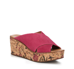 Frauen Schuhe, Fuchsia, 88-D-713-P-35, Bild 1