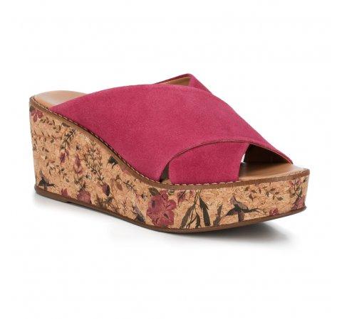 Frauen Schuhe, Fuchsia, 88-D-713-P-40, Bild 1