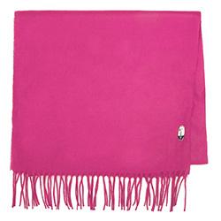 Женский широкий классический шарф, фуксия, 91-7D-X10-P, Фотография 1