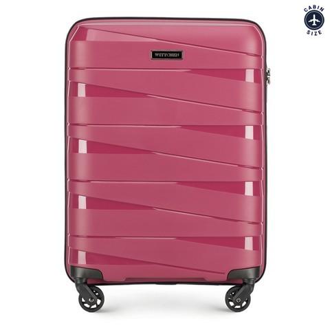 Kleiner Koffer in Rosa