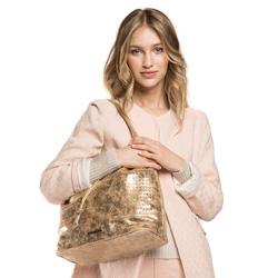 Damentasche, gold, 86-4Y-416-G, Bild 1