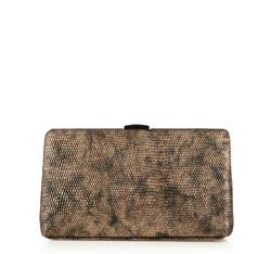 Damen Handtasche, gold-schwarz, 85-4Y-803-5M, Bild 1