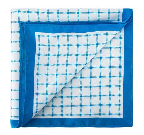 Нагрудный платок, голубо-белый, 81-7P-P12-0, Фотография 1