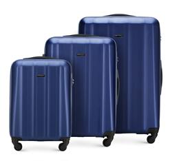 Комплект чемоданов, голубой, 56-3P-11S-95, Фотография 1