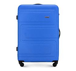 Большой чемодан, голубой, 56-3A-633-95, Фотография 1