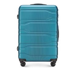 Большой чемодан, голубой, 56-3P-983-96, Фотография 1