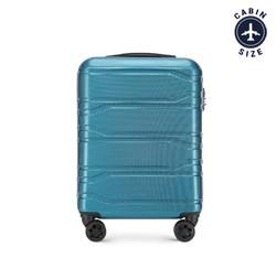 Чемодан ручная кладь, голубой, 56-3P-981-96, Фотография 1